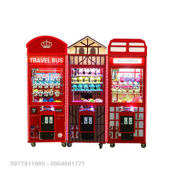 Gắp Thú Bông (British Toy Machine)